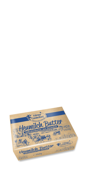 Heumilch Butter